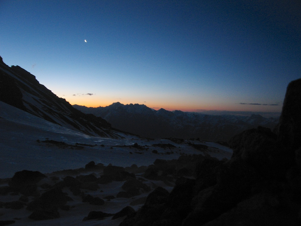 Sunrise at Kazbek